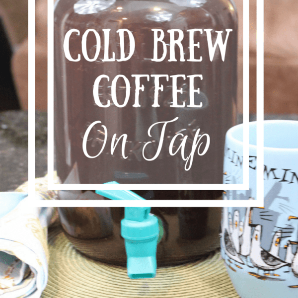 Cold Brew Coffee {On Tap}