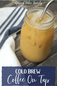 Cold brew coffee is incredible... the way it takes little prep and basically fixes itself. It's like the crock pot of coffee! But I needed it to be even simpler, so I put it on tap! Cold brew coffee I.V. coming up next ;)
