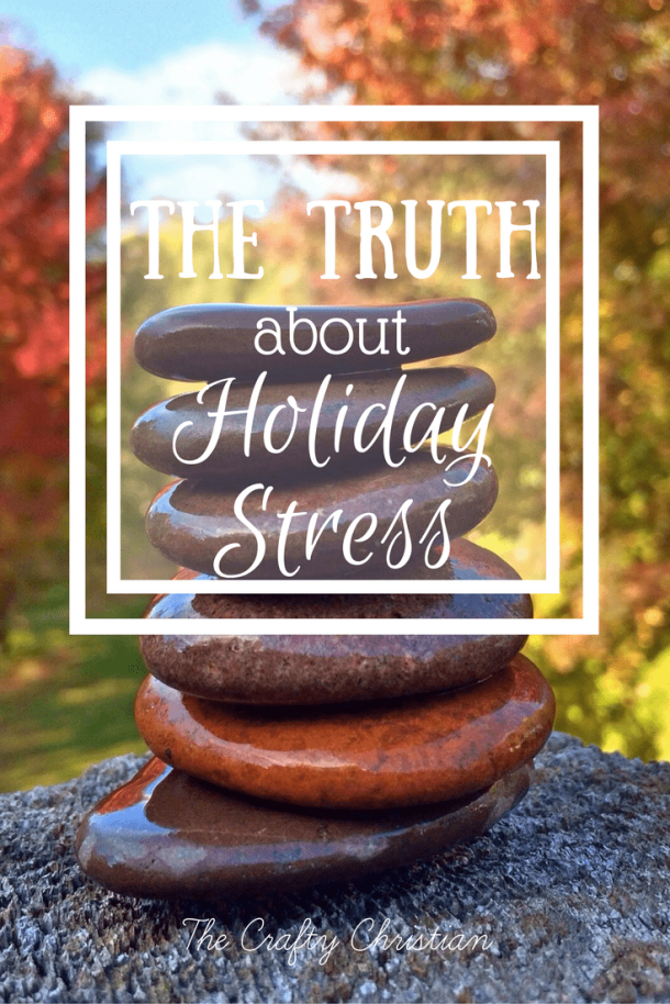 The holidays can be stressful for so many of us.  We love our families, but when you get together so many different people, there's bound to be disagreements.  How can we work at handling holiday stress better?