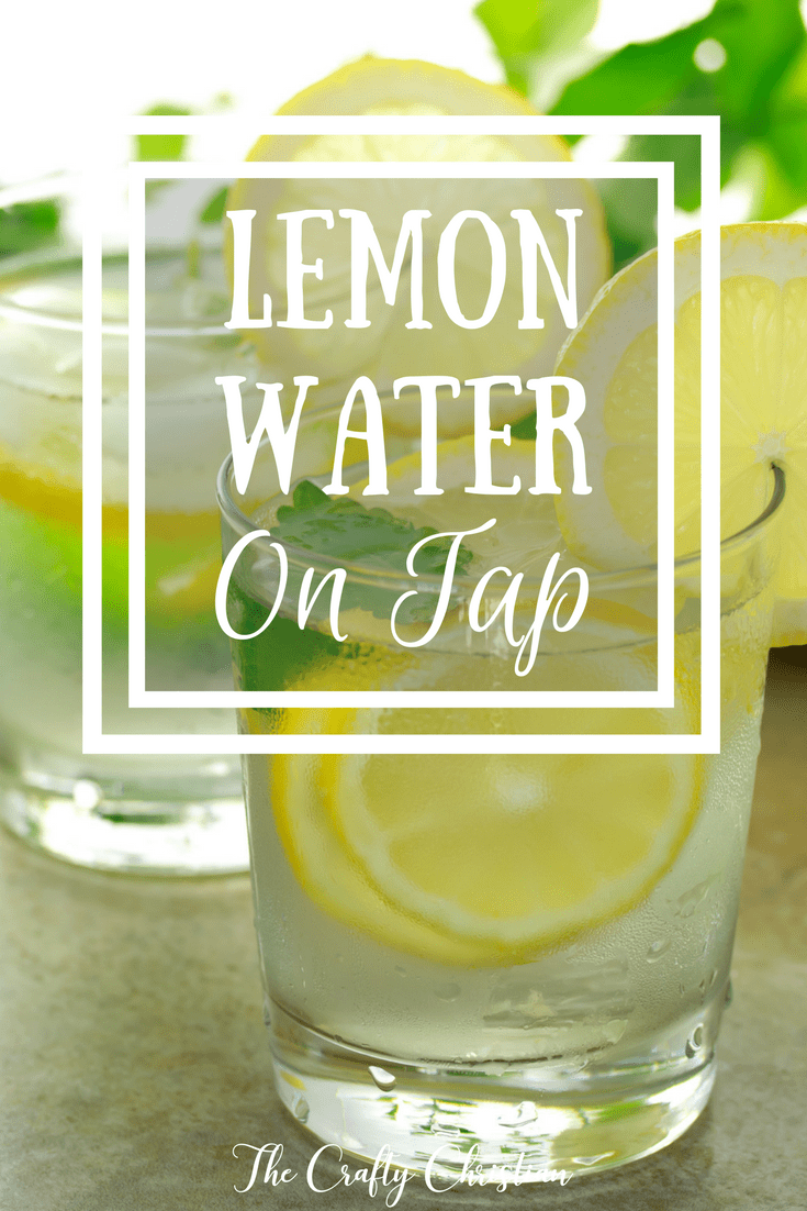 Lemon water is so good for you.  It helps regulate your digestive system, allows your liver to easily flush toxins out of your system, and tastes delicious!  Here's a recipe so you always have it on hand in your fridge.