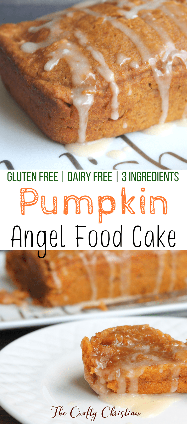 Fall is my favorite time of year, and all of the treats that come with it. This gluten free pumpkin angel food cake is easy and incredibly delicious!