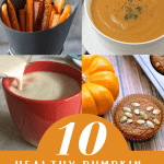 Pumpkin isn't only for candy and cookies, you can make real meals with it!  Here is a list of my 10 favorite healthy pumpkin recipes that aren't dessert.