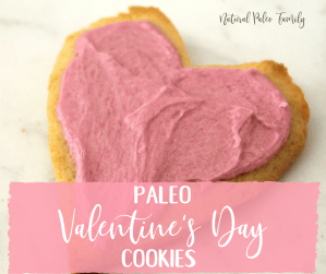 Paleo Valentine's Day Cookies {Recipe}