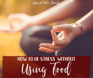 It's no surprise that the holidays bring around the greatest stress for most Americans. So how do you learn to de-stress without using food to ease your anxiety?