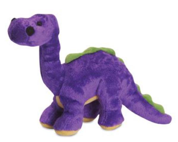 goDog Dinos Mini Bruto the Brontosaurus Dog Toy