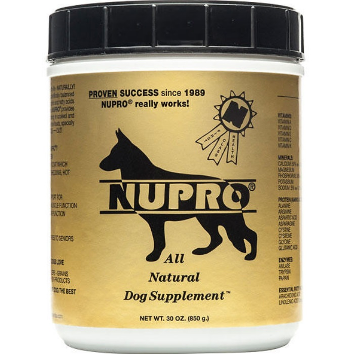 NuPro Gold All Natural Dog Supplement 30 oz