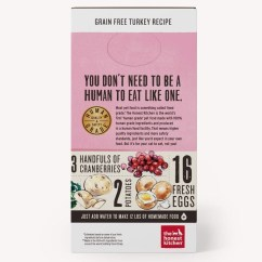The Honest Kitchen Small Storage Solutions Dehydrated Grain Free Turkey Recipe Cat Food 4 Grace