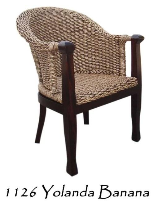 Yolanda Wicker Arm Chair