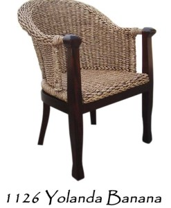 Yolanda Wicker Arm Chair
