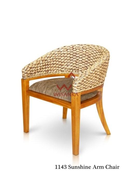 Sunshine Wicker arm chair