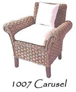 Carusel Wicker Arm Chair