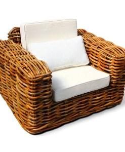 Stenli Wicker Rattan Arm Chair
