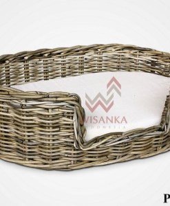 Abby Rattan Pet Bed