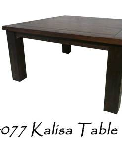 Kalisa Wooden Table