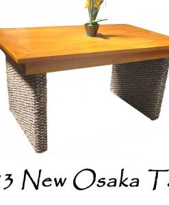 New Osaka Wicker Table