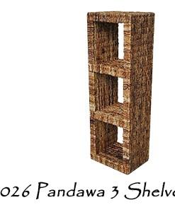Pandawa 3 kurvhylder