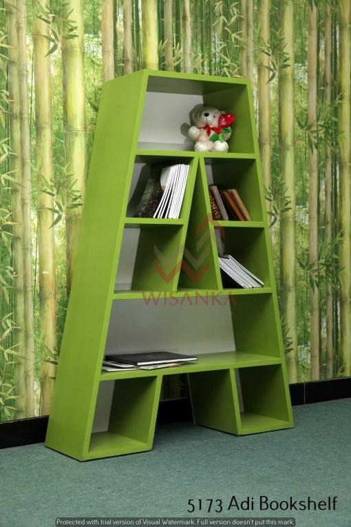 Adi Wooden Bookshelf
