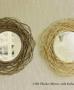 Thicket Rattan Mirror