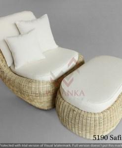 Safina Rattan Lazy Chair