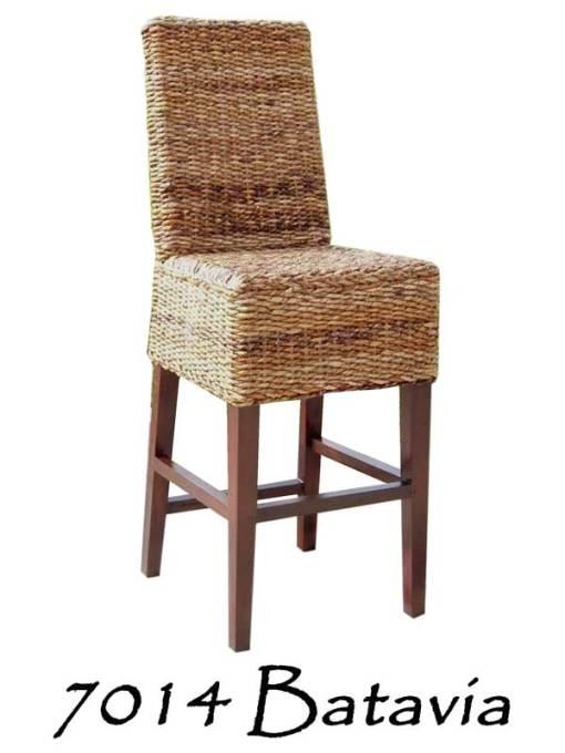 Batavia Wicker Bar stool