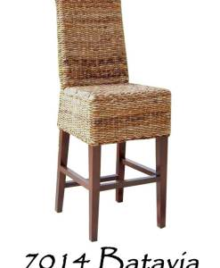Batavia Wicker Bar stool