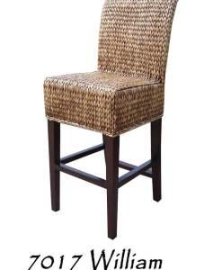 William Wicker Bar stool