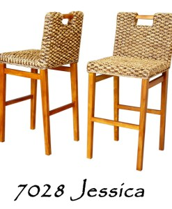 Jessica Wicker Bar Stool