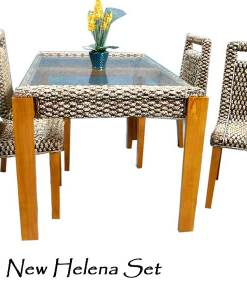 New Helena Wicker Dining Set