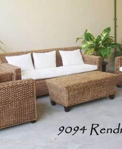 Rendra Wicker Corner Set