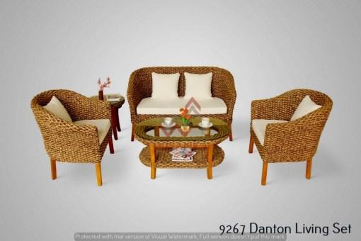 Danton Wicker Living Set
