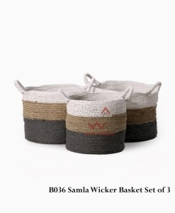 Samla Wicker Basket