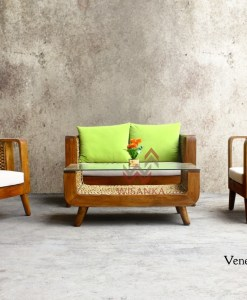 Venezia Wicker Living Set
