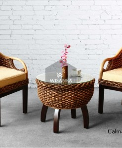Calmar Wicker Terrace Set