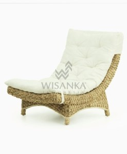 Moon Wicker Lazy Chair