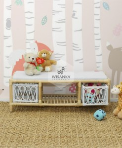 Molar Rattan Kids Bench