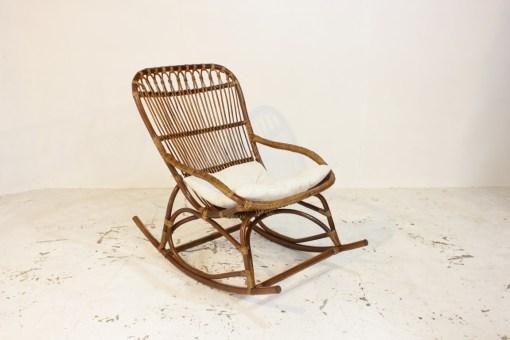 Monet Rattan Rocking Chair