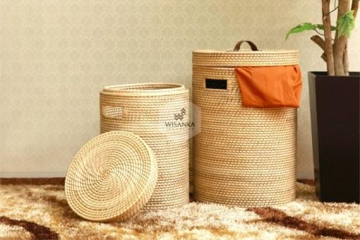Miko Laundry Rattan Basket