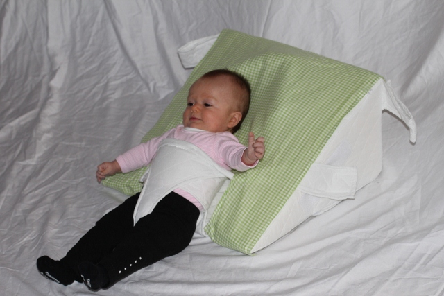 Baby Wedge Anti Reflux Colic Pillow Cushion For Pram Crib Cot Bed