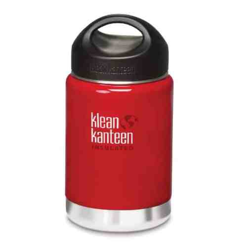 355ml12oz Kanteen® Wide Vacuum Insulated (mit Edelstahl Loop Cap)