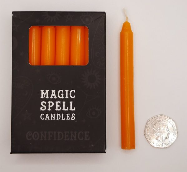 Candles-Orange-Confidence
