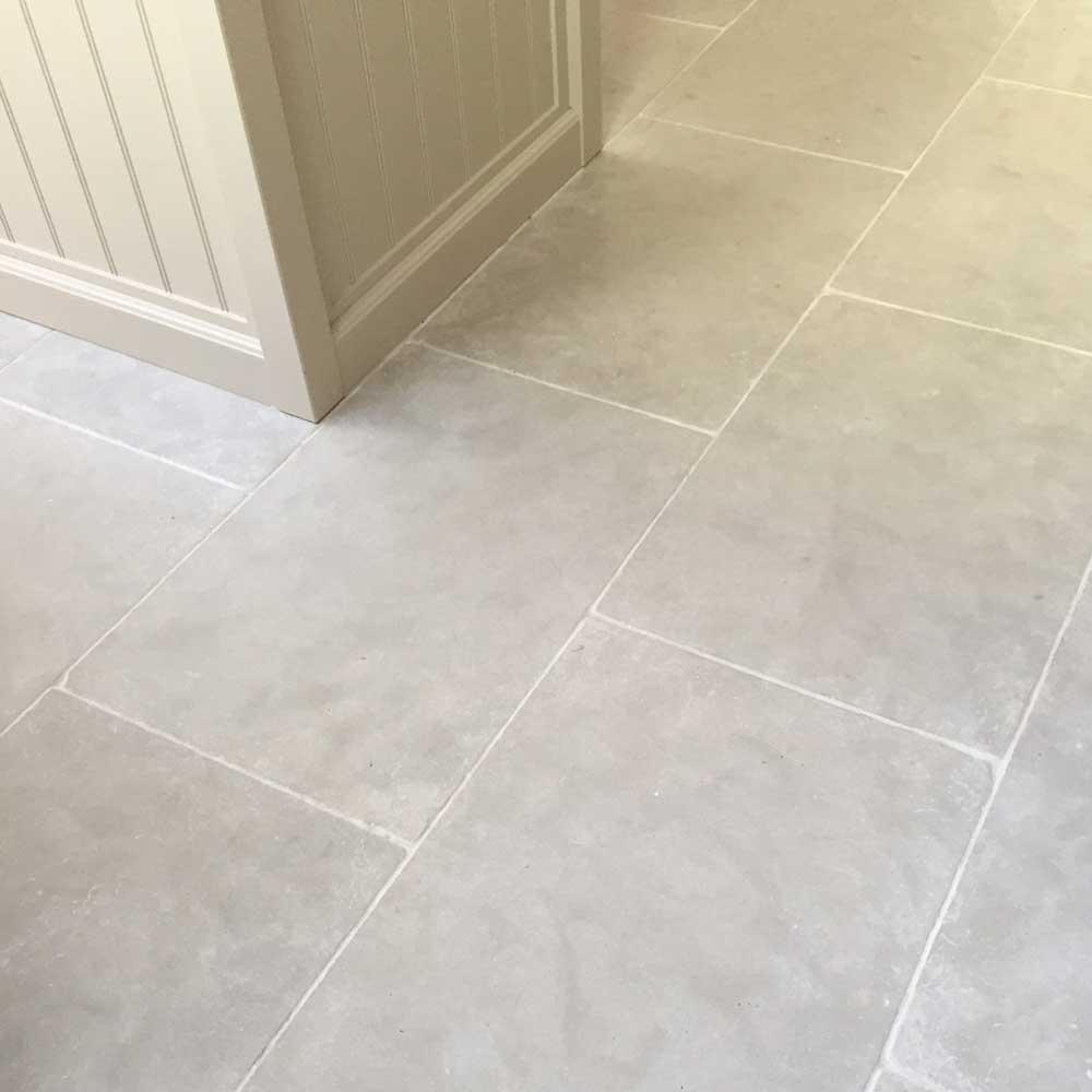stone kitchen floor