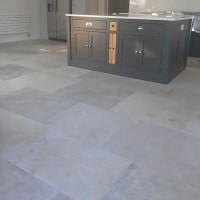 Manoir grey French limestone flooring