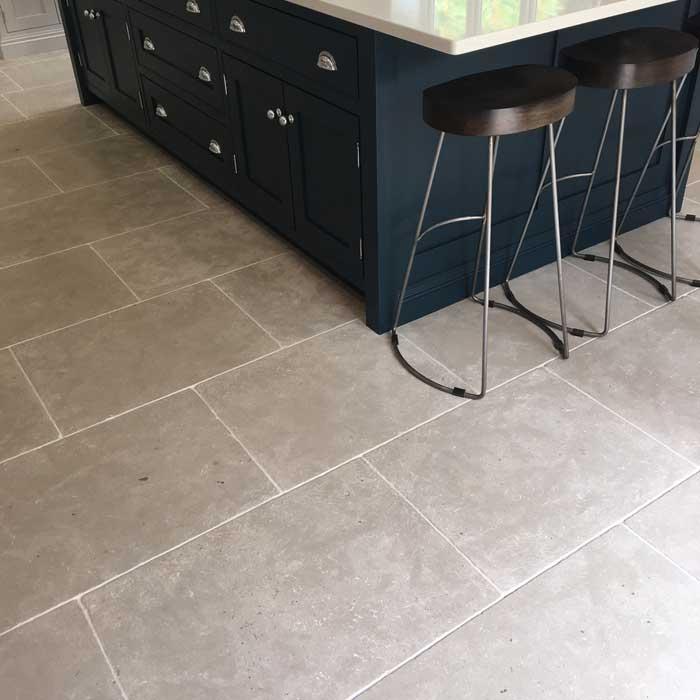 chalon grey limestone tiles