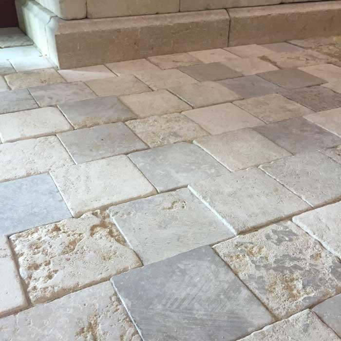 french limestone pavers