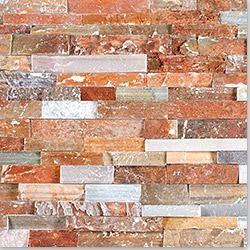 Golden White Ledger Stone Panel