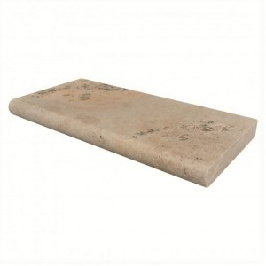 Mocha Pool coping, Pool Pavers, Bullnose Coping, Travertine Pool Coping
