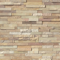 Fossil Rustic Stacked Stone Ledger