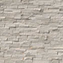 White Oak Splitface Stacked Stone Ledger