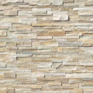 Golden Honey Stacked Stone ledger panels sale