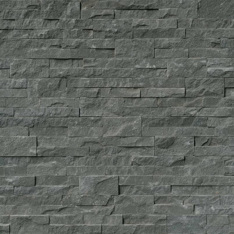 Mountain Bluestone Stacked Stone Panels